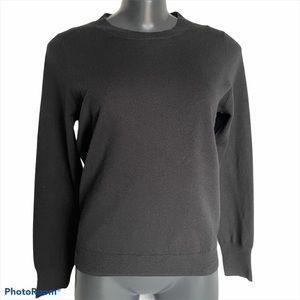 TAHARI Black long sleeve sweater, Size small